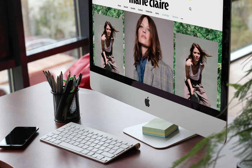 Article dans Marie Claire Magazine